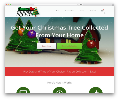 SiteOrigin North WordPress template free download - christmastreedublin.com