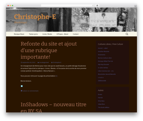Theme WordPress r2d2 - christophe-e.net