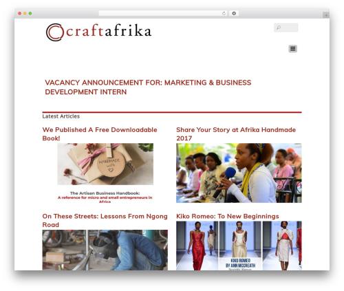 Themify Basic WordPress theme - craftafrika.org