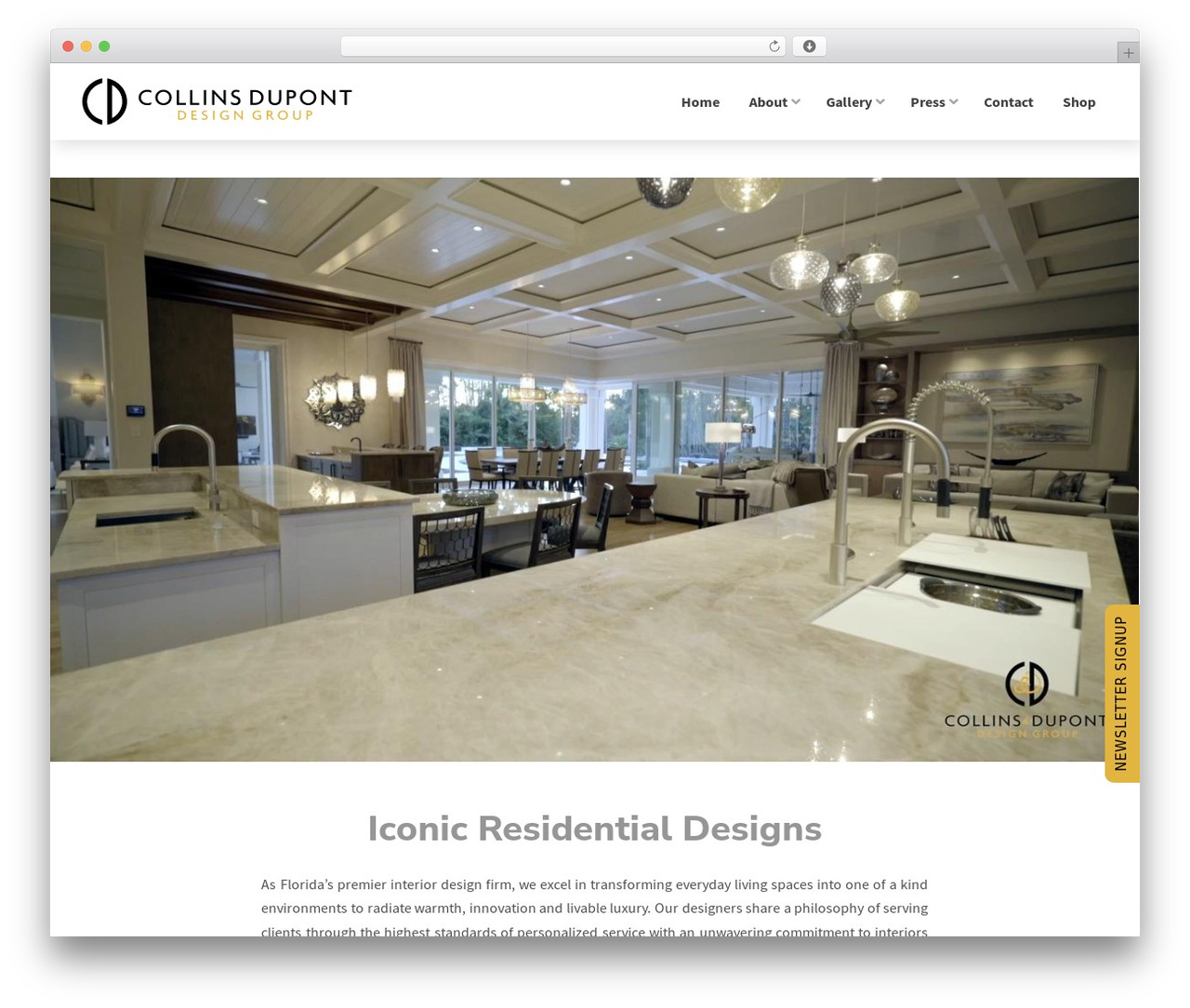 Collins & Dupont Design Group wordpress website template pro by themeco - collins-dupont