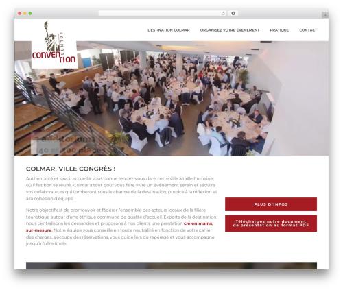 WP template Jupiter - colmar-congres.com