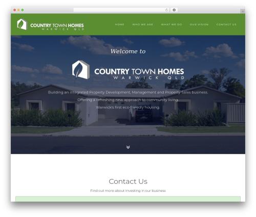 WordPress fresh-framework plugin - countrytownhomes.com.au