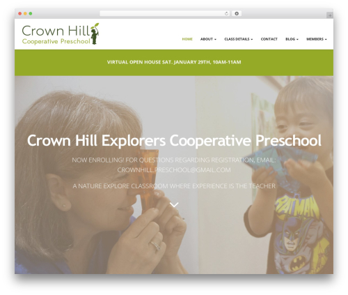 Magicreche premium WordPress theme - crownhillpreschool.com