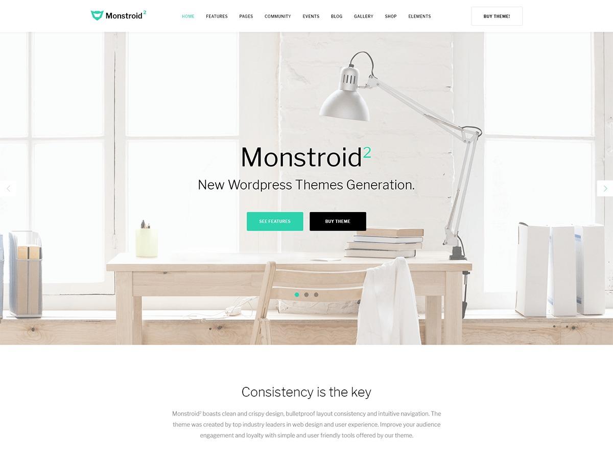 Monstroid2 theme WordPress