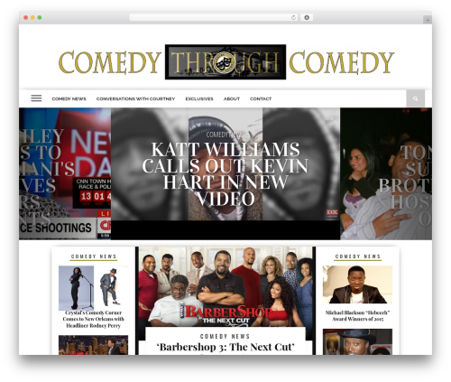 Free WordPress Media Credit plugin - comedythroughcomedy.com