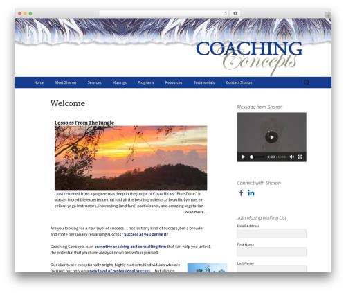 Twenty Thirteen theme WordPress - coachingconcepts.com