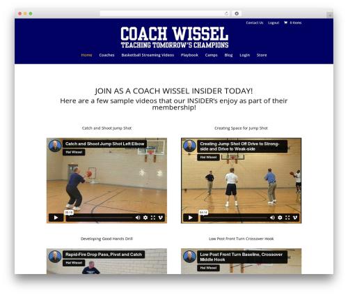 Coach Wissel WordPress theme - coachwissel.com