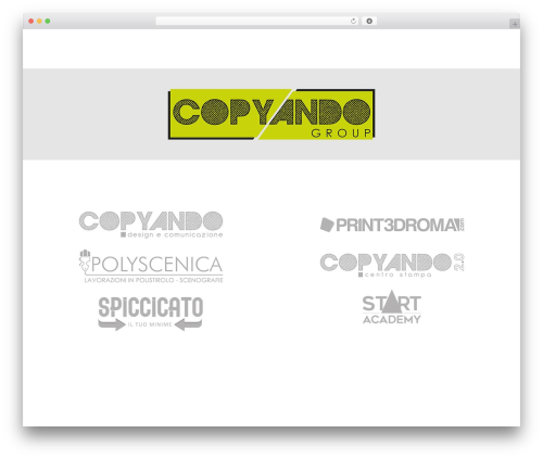Impreza WordPress theme - copyando.com