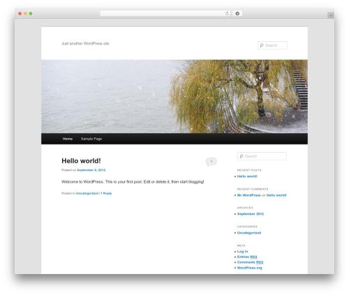 Twenty Eleven template WordPress free - clickadopt.com