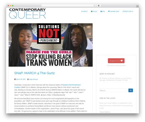 Free WordPress SlickQuiz plugin - contemporaryqueer.com