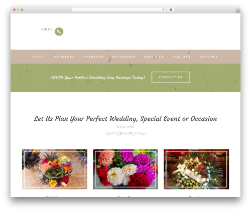 WP template LoveStory - choysflowers.com