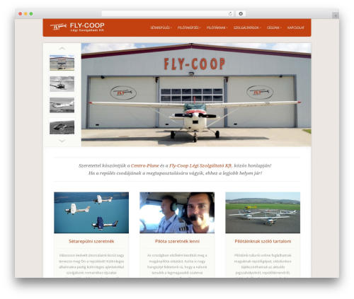 Acoustic top WordPress theme - centroplane.hu