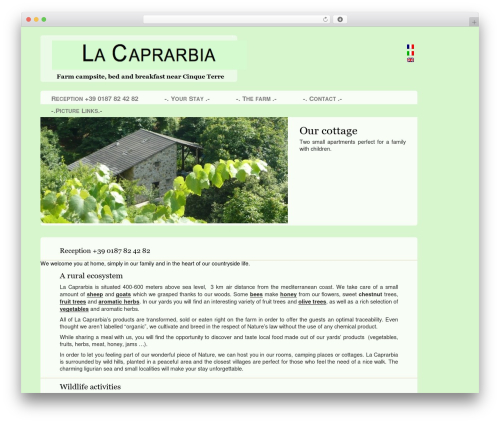 Free WordPress TablePress plugin - caprarbia.it