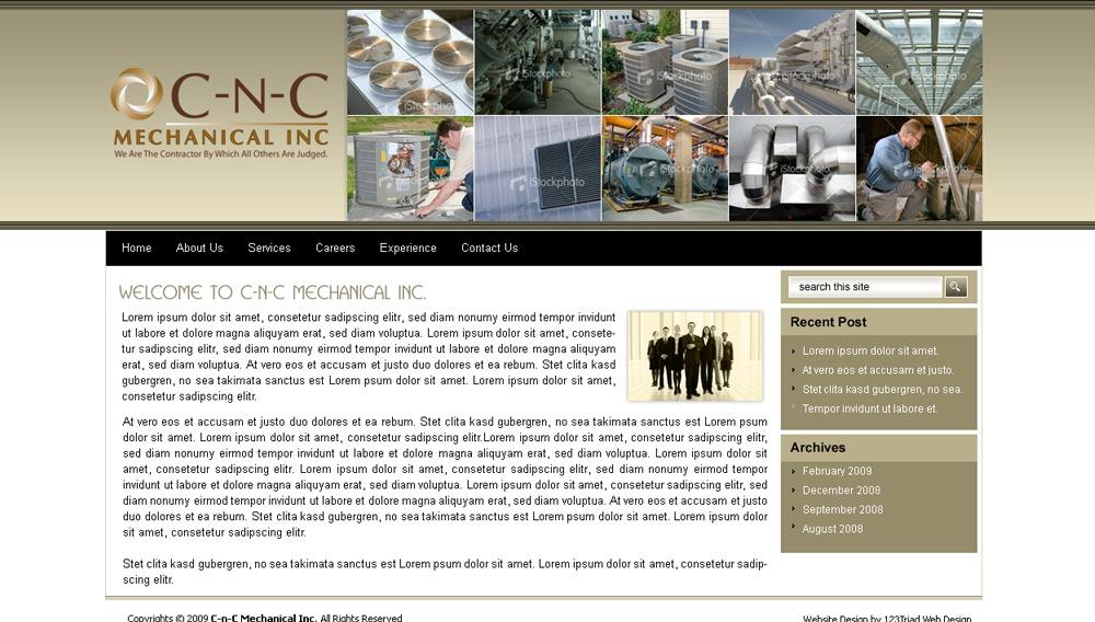 cncmechanical WordPress theme