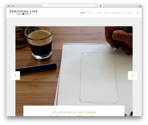 Free WordPress Livemesh SiteOrigin Widgets plugin - enrichinglife.co.za