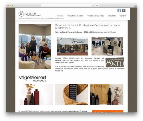 Striking MultiFlex & Ecommerce Responsive WordPress Theme WordPress template - crealookcoiffure.com