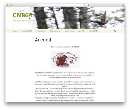 Twenty Thirteen WordPress theme - cnb64.fr