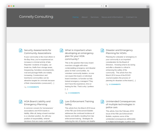 Caveat template WordPress free - connellyconsulting.org