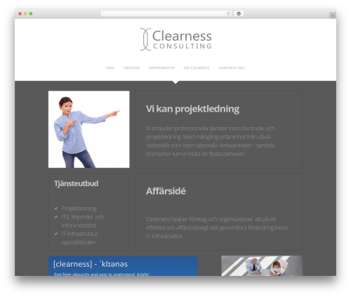 The Grid theme WordPress - clearness.se