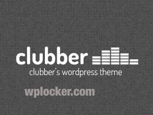 WordPress theme Clubber (wplocker.com)