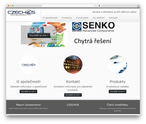 WordPress theme Customizr - czechos.cz