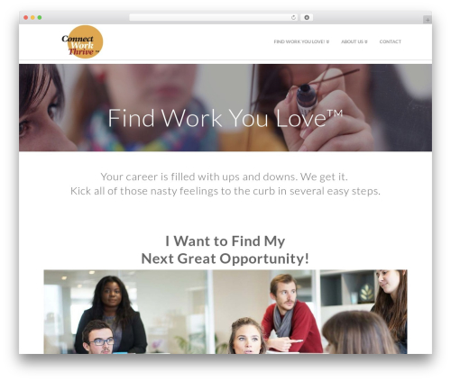 X WordPress theme - connectworkthrive.com