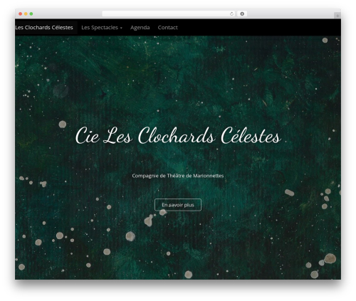 Arcade Basic theme WordPress - cielesclochardscelestes.fr