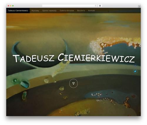 Arcade Basic WordPress theme - ciemierkiewicz.com