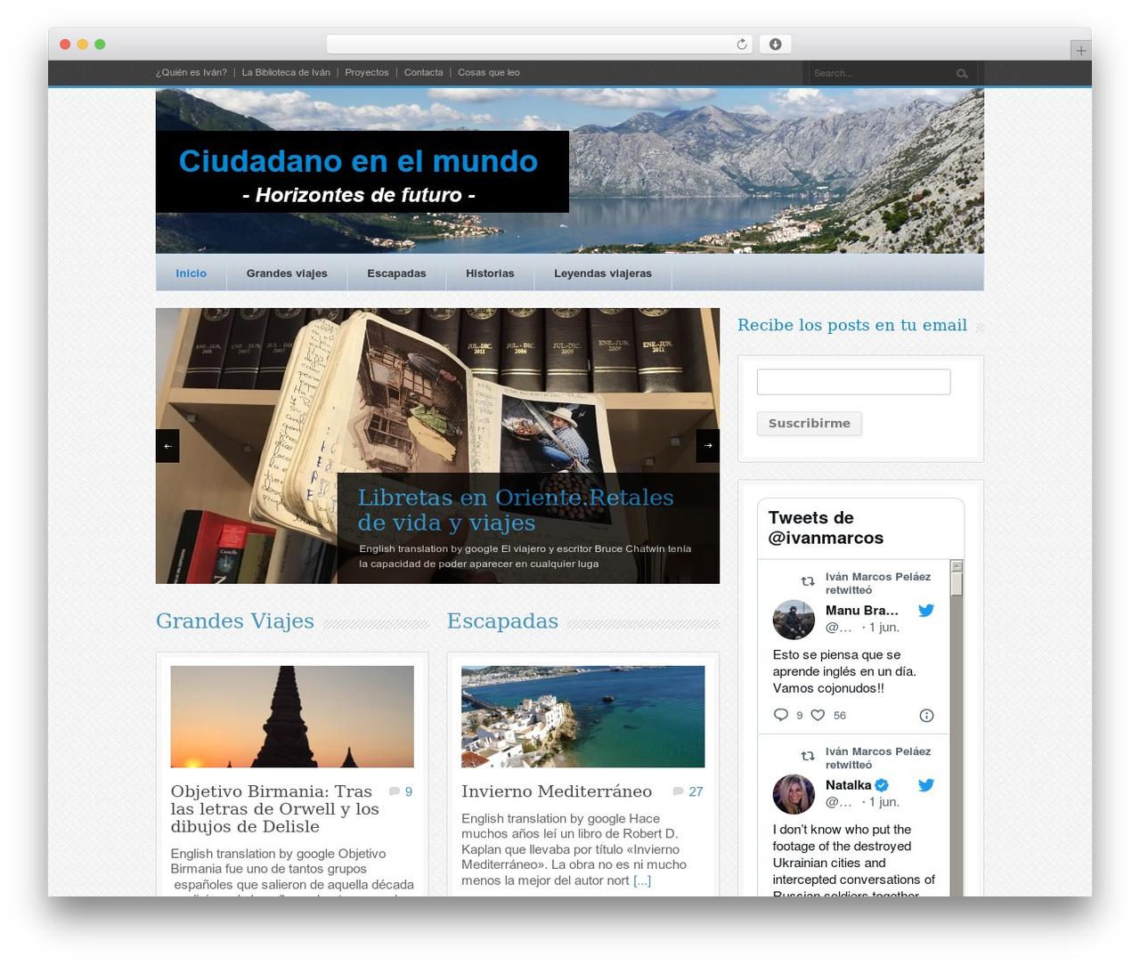 Best WordPress template Bangkok Press - ciudadanoenelmundo.com