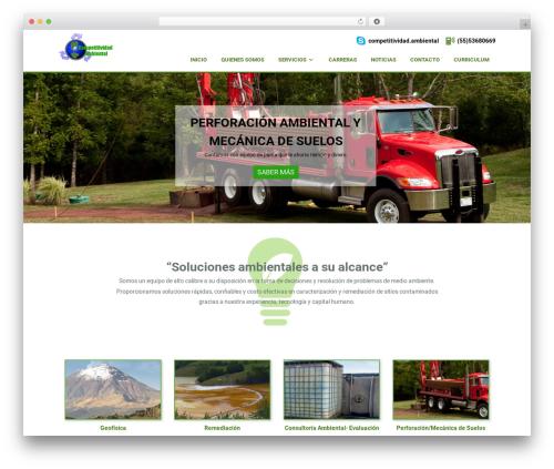 Padhang WordPress theme - compa.com.mx