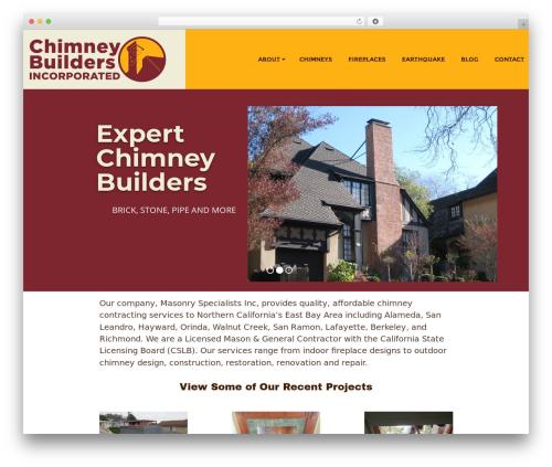 Template WordPress Responsive Brix Child - chimneybuildersinc.com