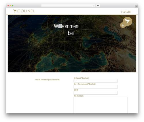 The HTML5 Reset Theme WordPress theme - colinel.de