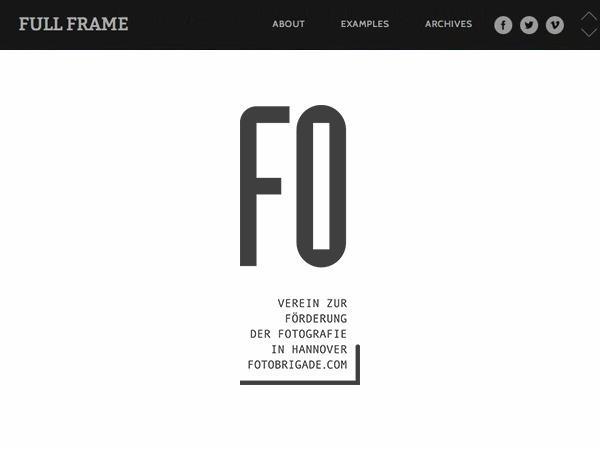 Best WordPress template Full Frame Edit