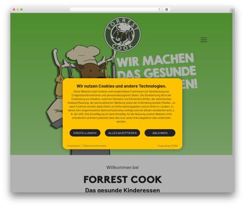 Betheme best WordPress template - forrestcook.de