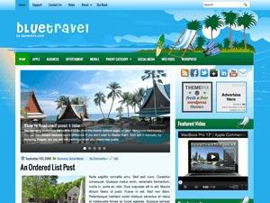 BlueTravel WordPress travel theme