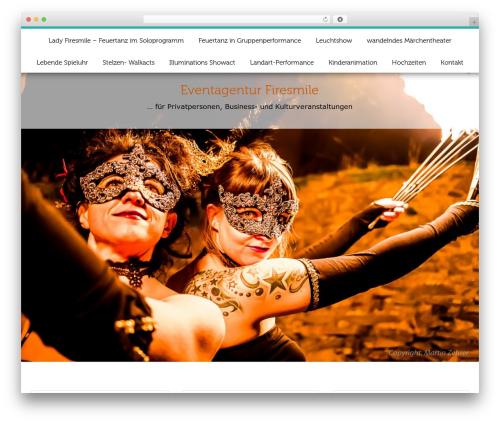 ButterBelly best free WordPress theme - firesmile.de