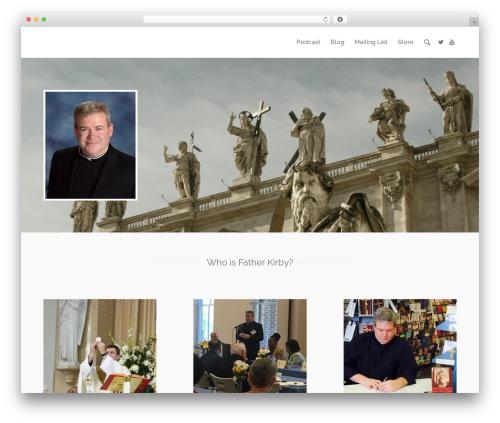 Camyno best WordPress theme - frkirby.com