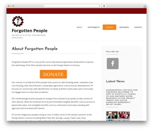 Cell WordPress theme free download - forgottennavajopeople.org