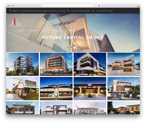 Contractor WP theme - fcgbuild.com.au