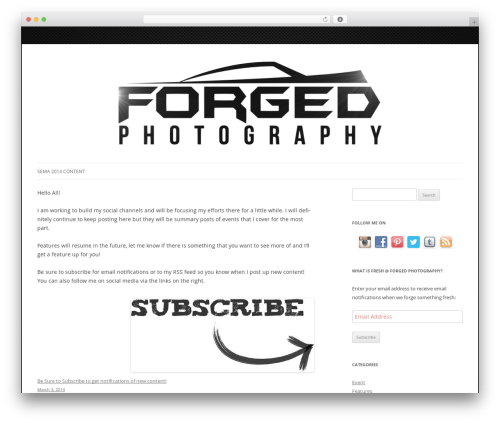 WordPress my-pinterest-badge plugin - forgedphotography.com