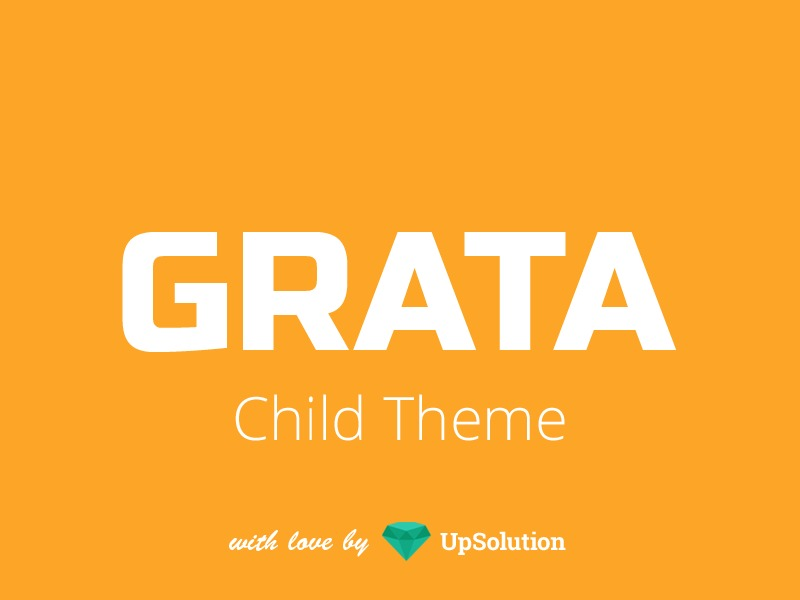 Grata Child WordPress theme