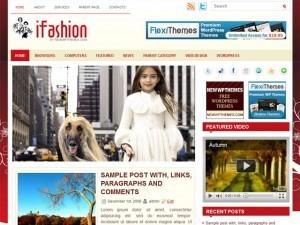 iFashion fashion WordPress theme
