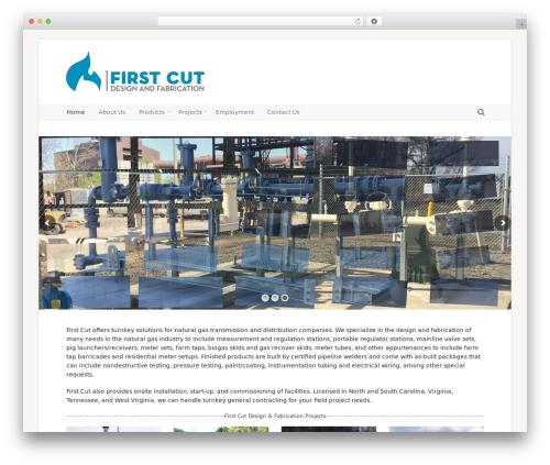 Incentive WordPress template for business - firstcutdesign.com