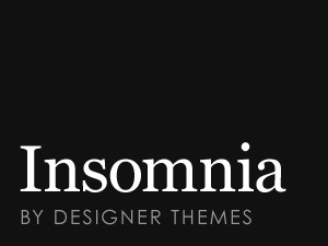Insomnia best WooCommerce theme