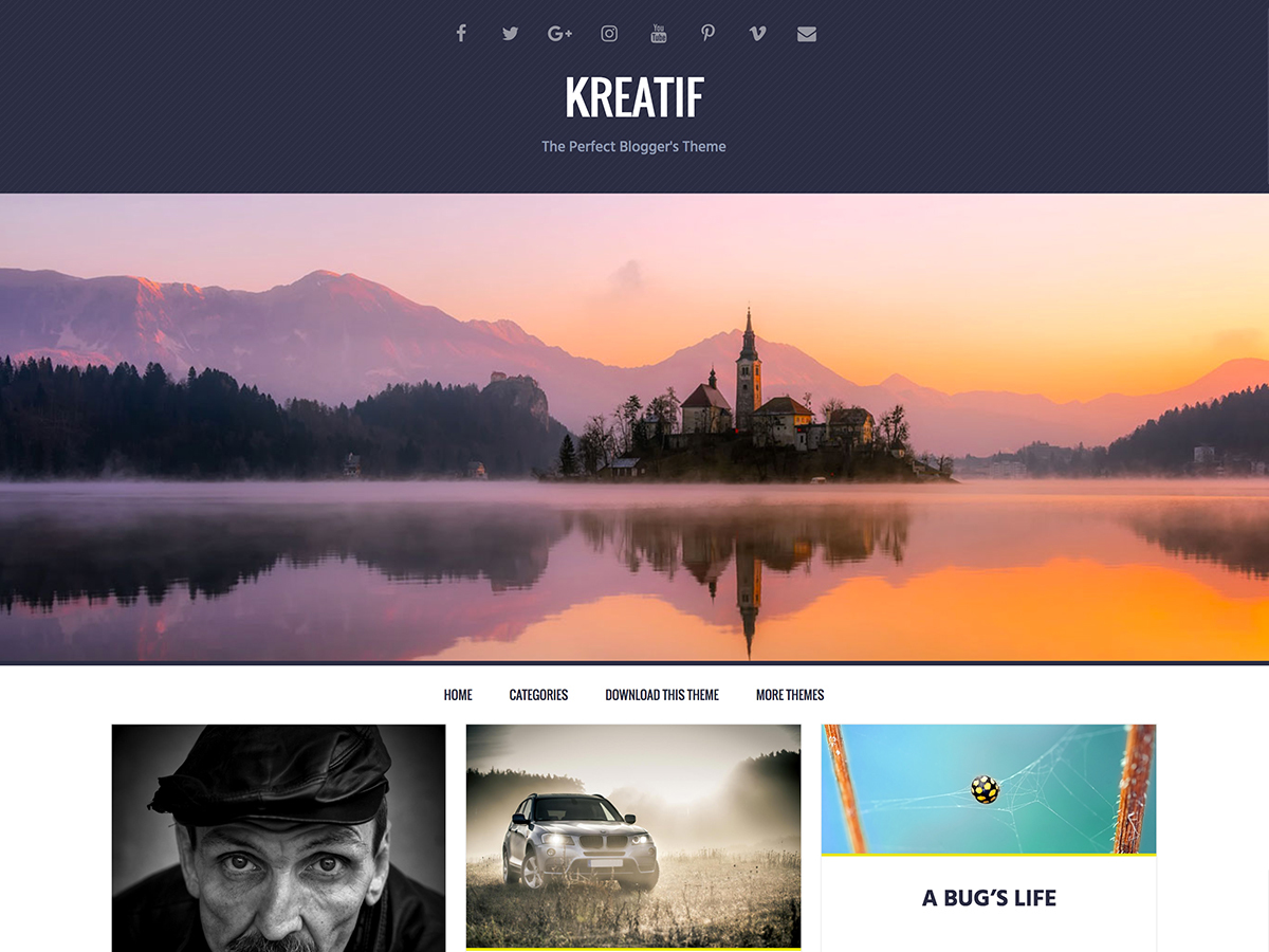 Kreatif WordPress free download