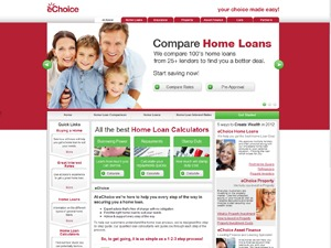 New eChoice WordPress page template