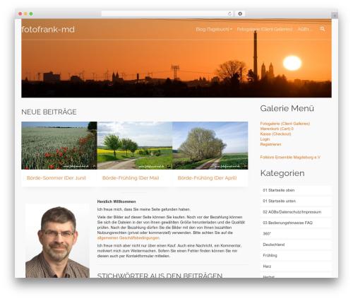 Pinnacle Premium WordPress template - fotofrank-md.de