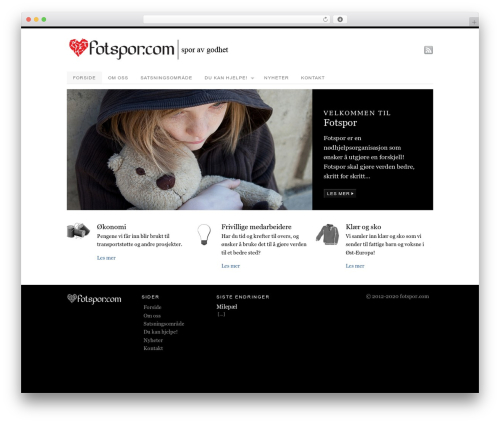 PlatformPro WordPress theme - fotspor.com