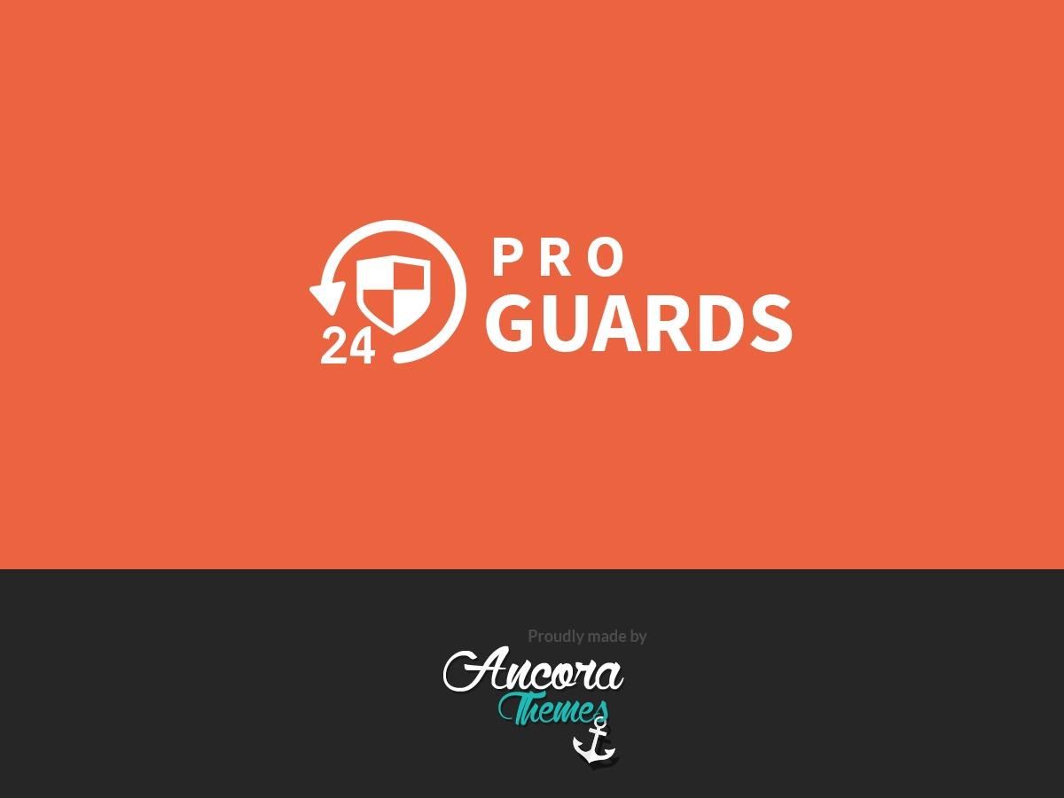 ProGuards premium WordPress theme
