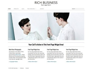 RichWP Rich Business WordPress template for business